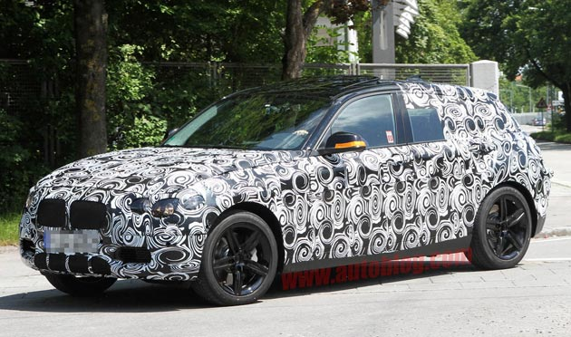 Spy Shots: 2012 BMW 1 Series five-door caught with rumored turbo'd four
