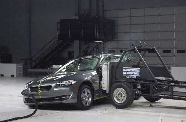 2011 BMW 5-Series nabs IIHS Top Safety Pick laurels