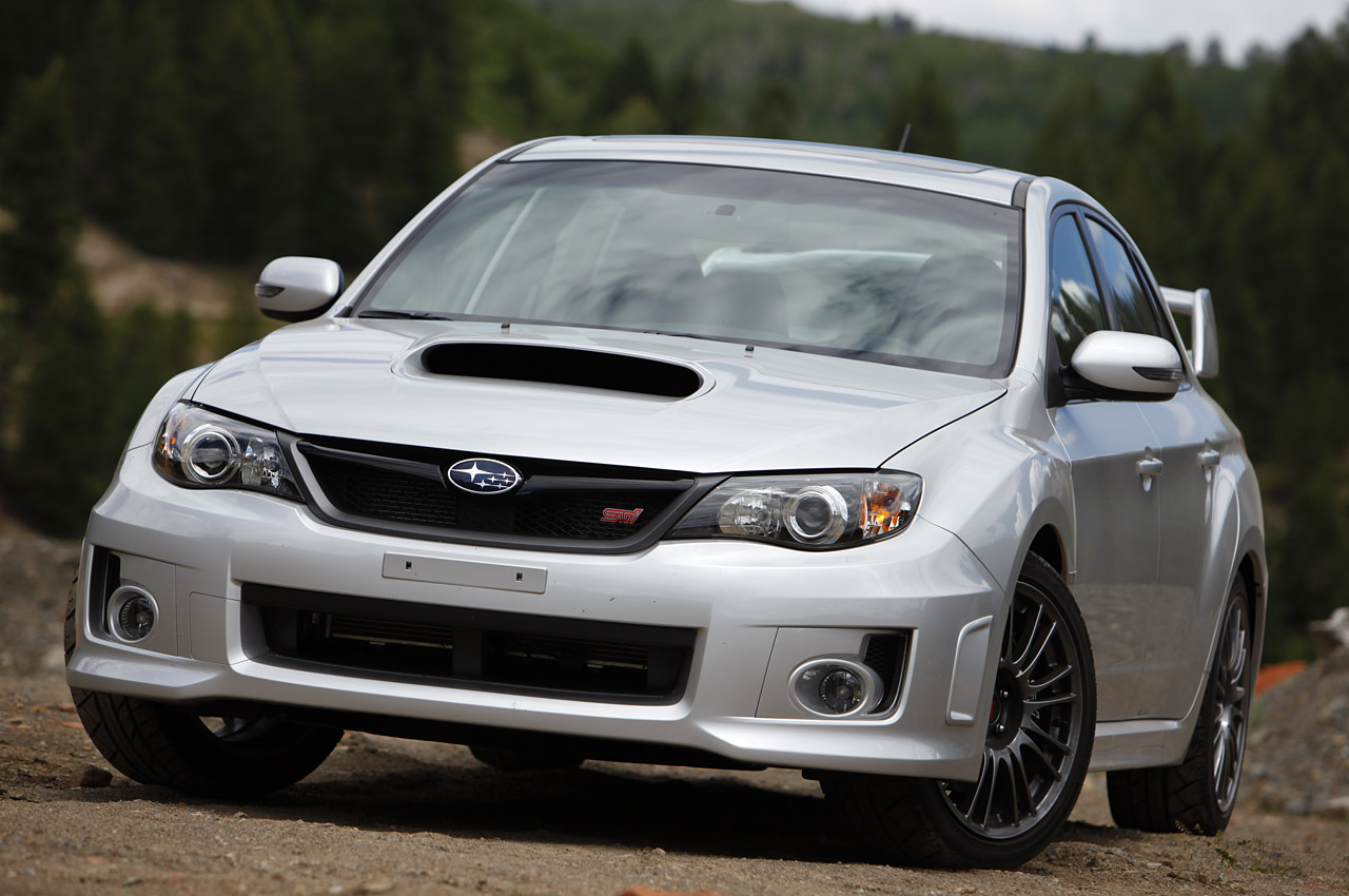 2011 subaru wrx sti with gold