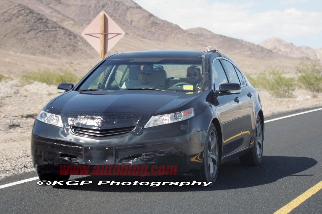 Spy shots have you seen these yet acurazine acura enthusiast community