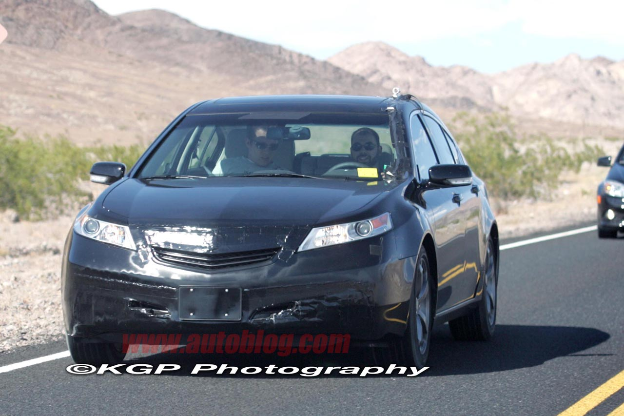 spy shots 2011 acura tl photos
