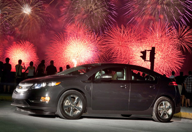 Chevrolet Volt Black. Chevrolet Volt – Click above