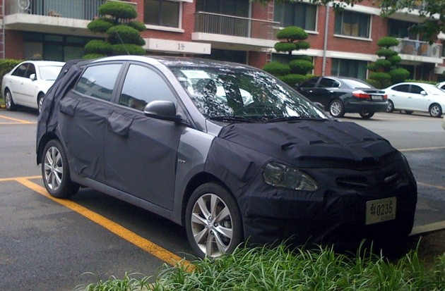 Reader Spy: 2012 Hyundai Accent hatchback held napping