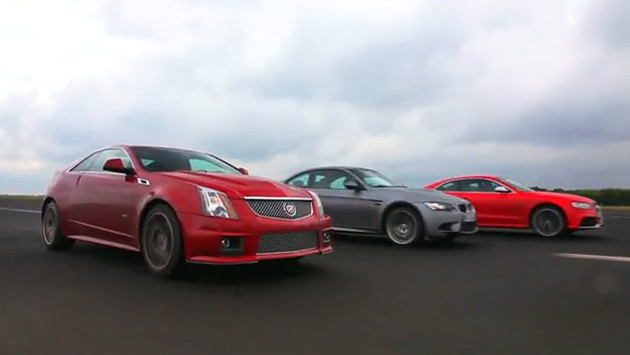 Audi RS5 vs. BMW M3. The Cadillac CTS-V Coupe has some serious performance