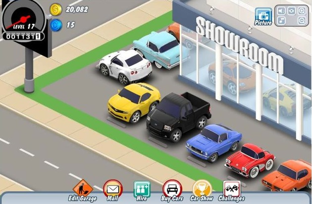 Car Town Turns Facebook Gamers Into Car People Autoblog - Car show games