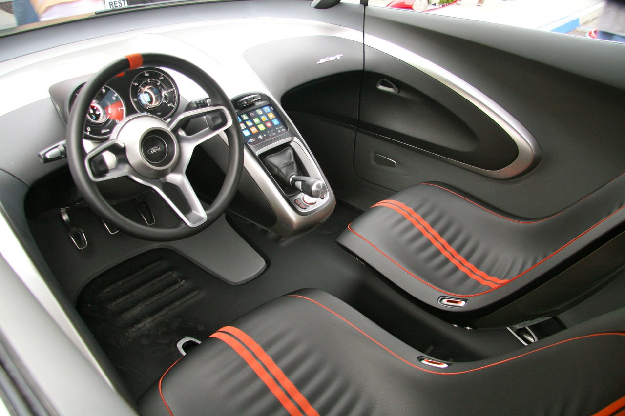 Design and futuristic the concept car of future interior - Car interior design ...
