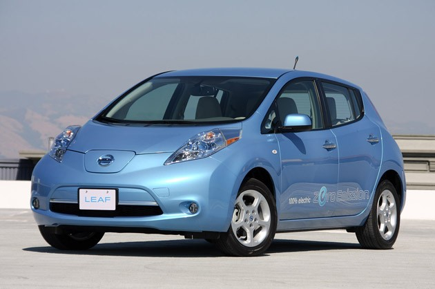nissan leaf europe car of the year
