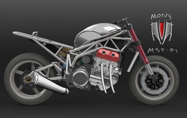 Motus Motorcycles V4 Engine Impresses Puts Out Over 160