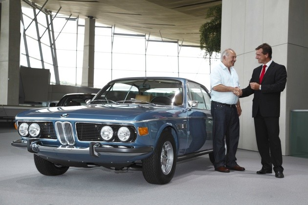 BMW Classic Center completes '72 3.0 CSi restoration for lucky owner