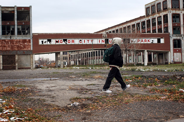 Detroit Still Hunting Down Packard Plant Owner