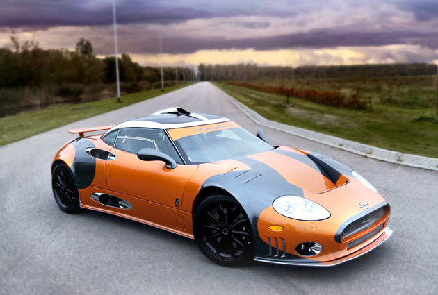 Spyker C8 Laviolette LM85 - Click above for high-res image gallery