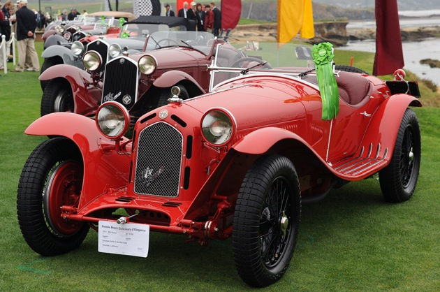 A Century of Alfa Romeos at the 2010 Pebble Beach Concours d'Elegance