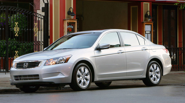 Honda Accord top stolen car of 2010