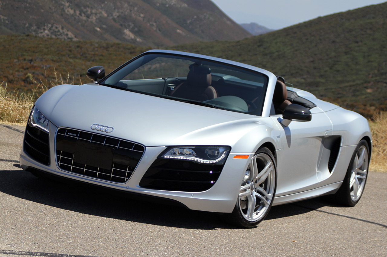 2011 12 audi r8 spyder recalled for fuel leak autoblog. Black Bedroom Furniture Sets. Home Design Ideas