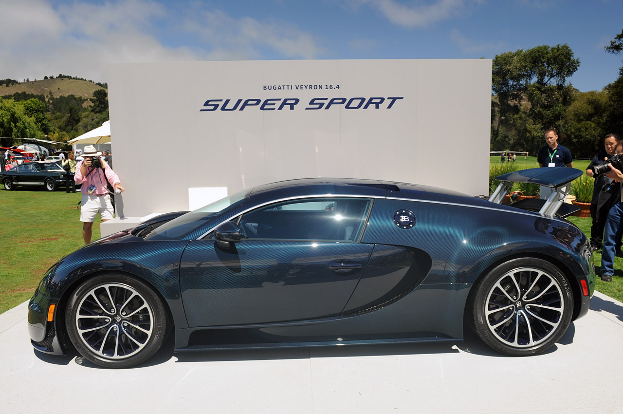 monterey 2010 bugatti veyron 16 4 super sport photo gallery autoblog