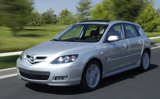 report 2007 2009 mazda3 and mazda5 models face power steering recall. Black Bedroom Furniture Sets. Home Design Ideas