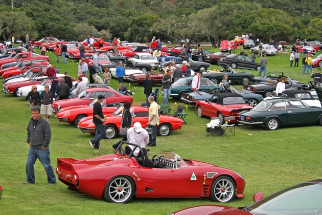 Alfa Romeo centenary celebration at Concorso