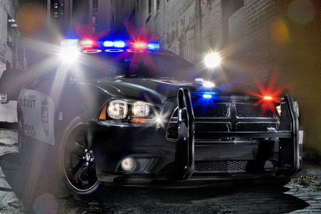 2011 Dodge Charger Pursuit police car