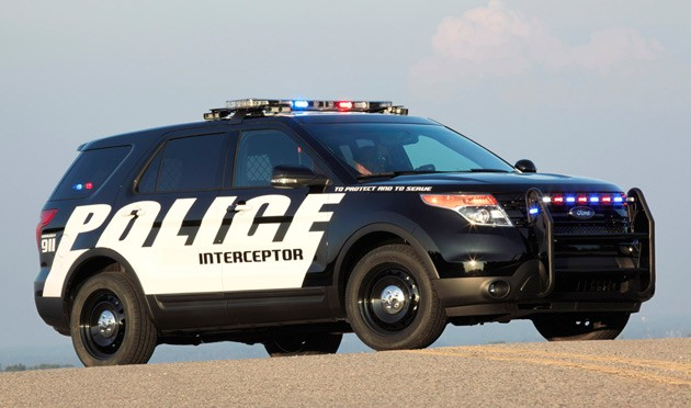 Ford Explorer Police Interceptor Utility prepares to serve and protect