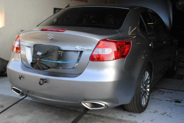 Why does a Suzuki Kizashi need a parachute? Click above to watch the ...