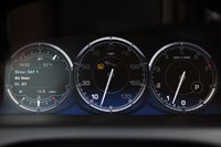 2011 Jaguar XJL gauges