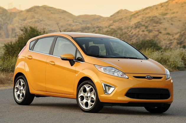 2011 Ford Fiesta SES shown