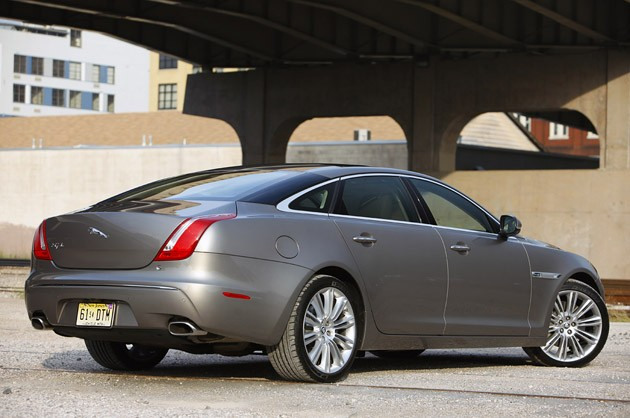 2011 Jaguar XJL rear view