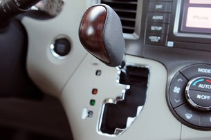 2011 Toyota Sienna gear shift