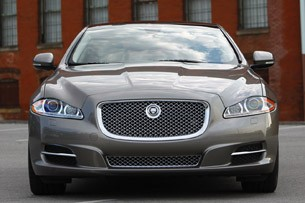 2011 Jaguar XJL head on