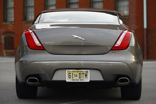 2011 Jaguar XJL rear