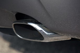 2011 Jaguar XJL exhaust tip