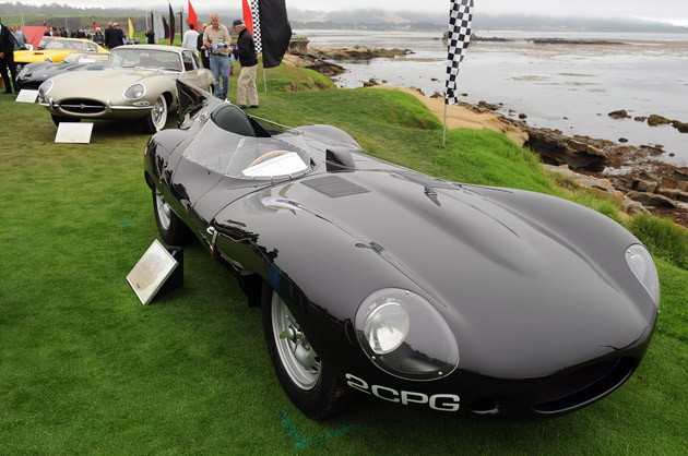 Jaguar 75th Anniversary at Pebble Beach
