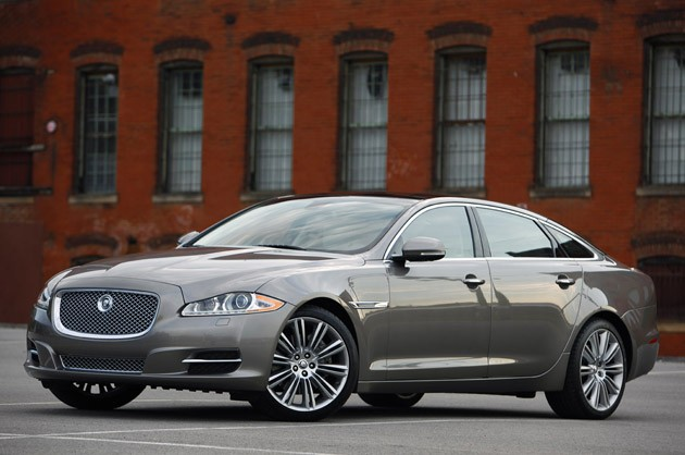 2011 Jaguar XJL front view