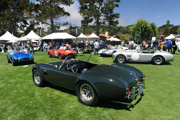 Carroll Shelby tribute at The Quail