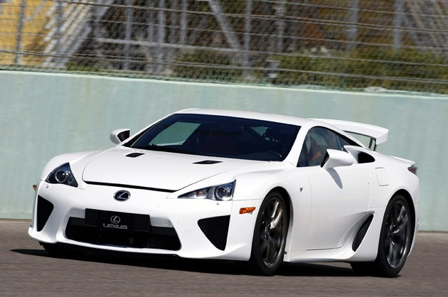 Lexus LFA shown