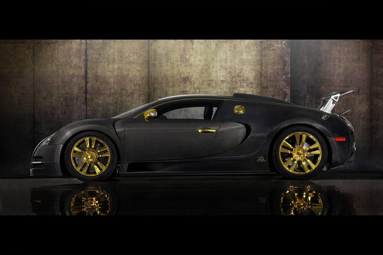 bugatti veyron by mansory linea vincero d oro neon hero. Black Bedroom Furniture Sets. Home Design Ideas