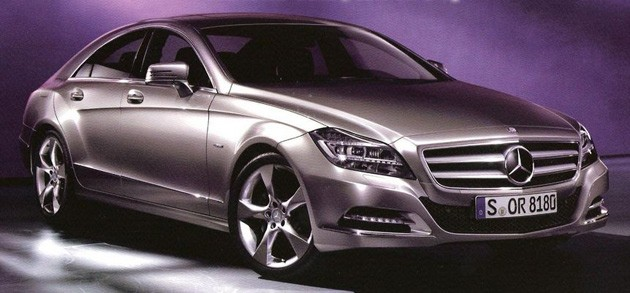 2011 Mercedes-Benz CLS leaked shots