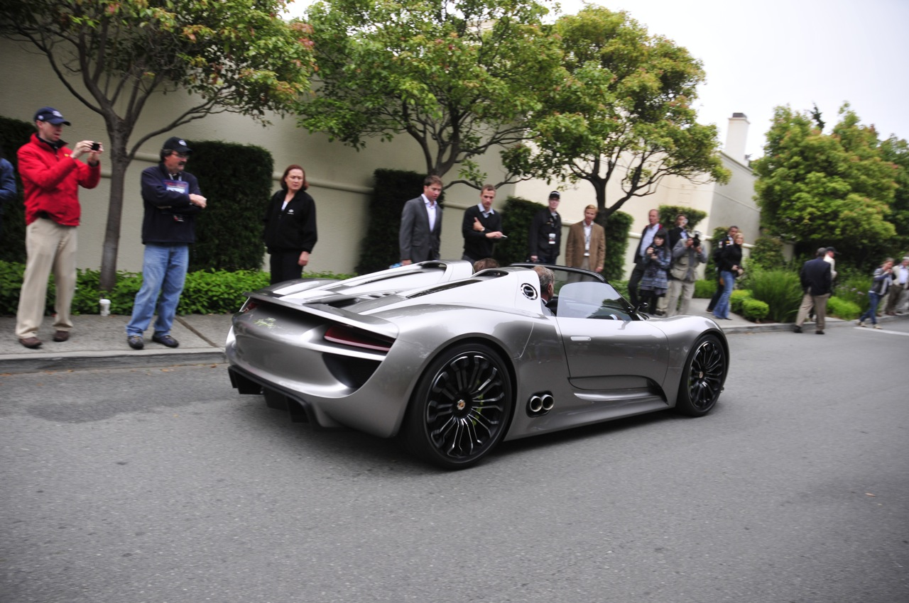 monterey 2010 porsche 918 spyder at pebble beach concours d 39 elegance photo gallery autoblog. Black Bedroom Furniture Sets. Home Design Ideas