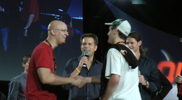 Epic blunder at QuakeCon