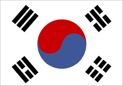 S. Korean flag