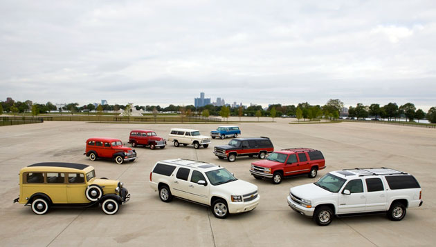 Chevrolet Suburban 75th Anniversary Event – Click above for high-res