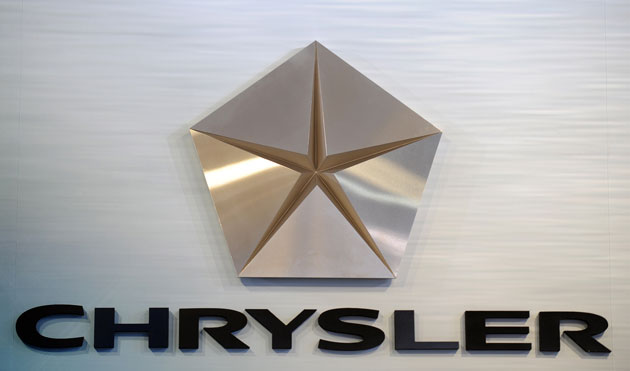 Chrysler logo badge