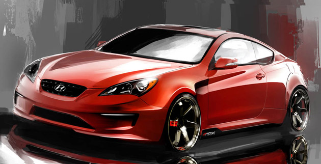 ARK Performance Hyundai Genesis Coupe