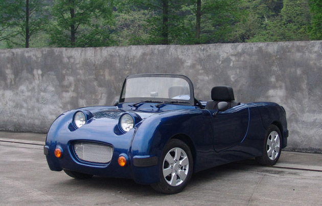 Norster 600R is the Finnish designed, Chinese built, British Frogeye throwback