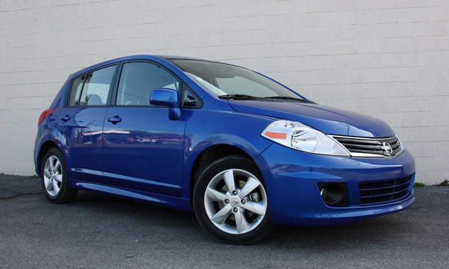 2010 Nissan Versa Hatchback