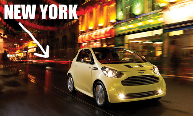 Aston Martin Cygnet could come to the States