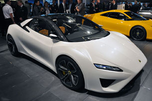 Lotus shocks Paris Motor Show with five concept debuts - Autoblog