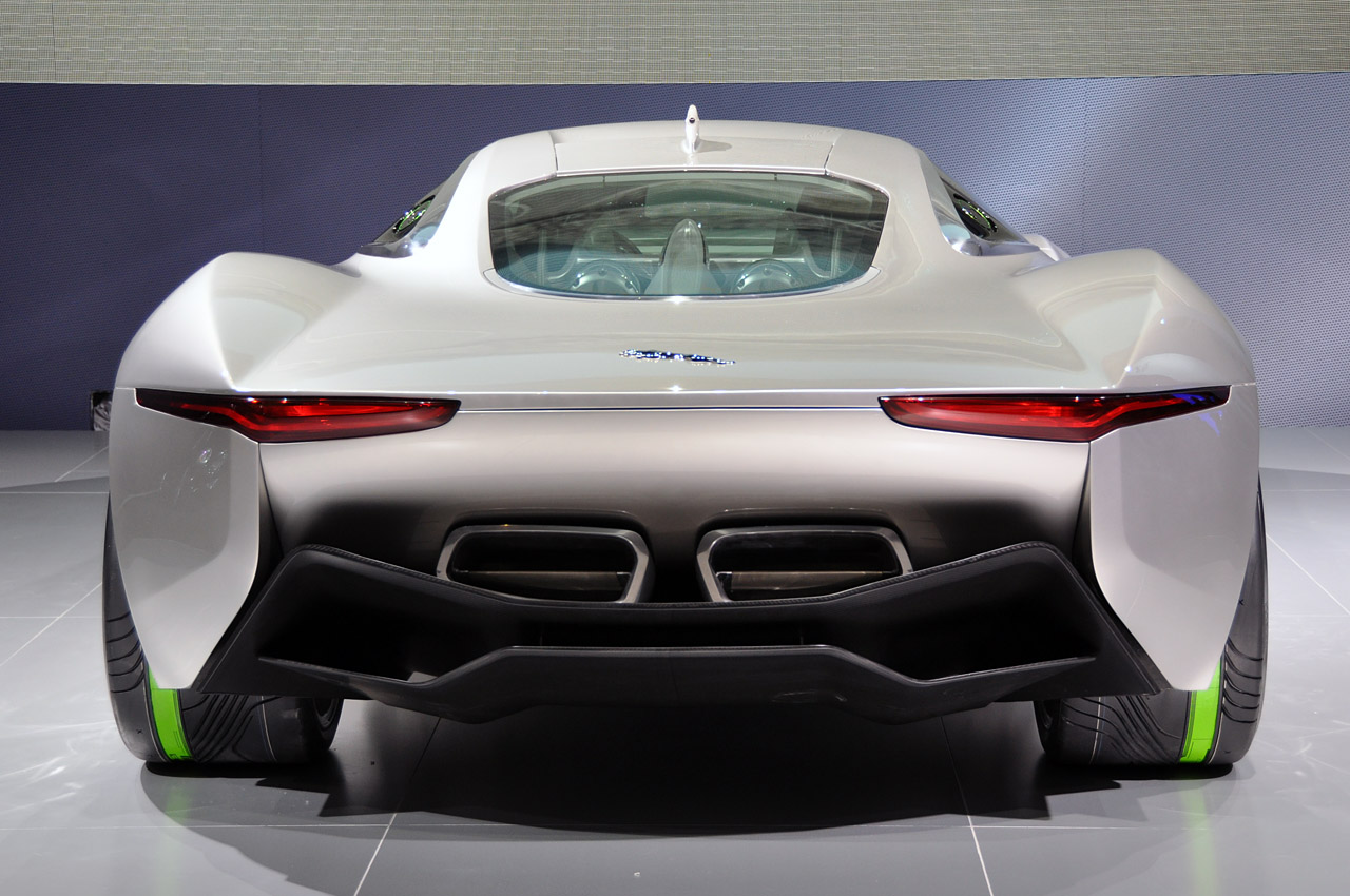 Jaguar C X75 Concept Is A Stunning 780 HP Supercar   Lexus IS Forum