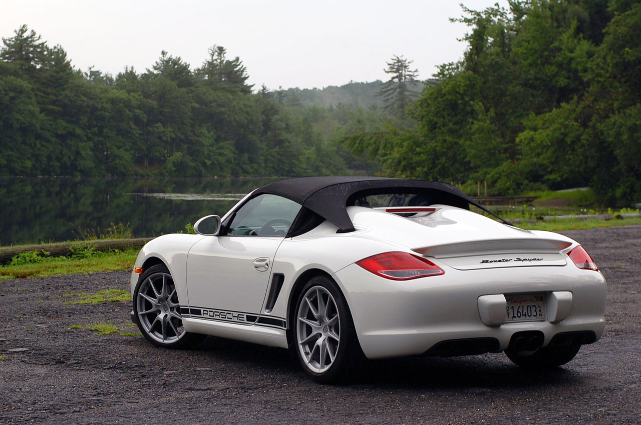 Review 2011 Porsche Boxster Spyder Photo Gallery Autoblog