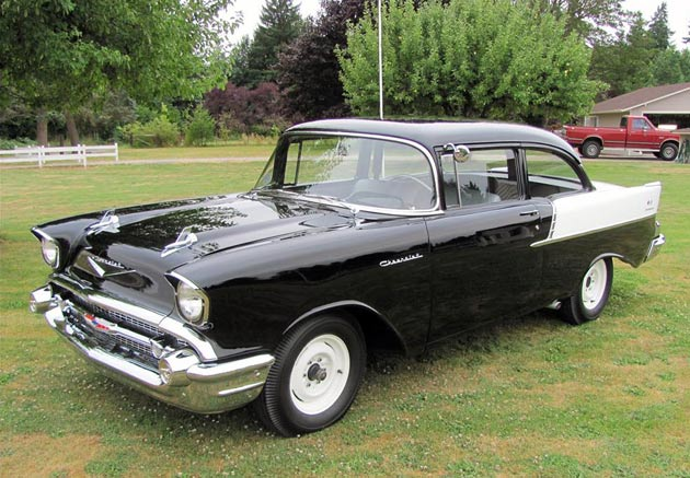 1957 Chevy Black Widow
